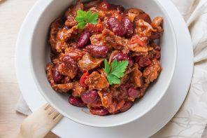 Fagioli alla messicana con carne di maiale
