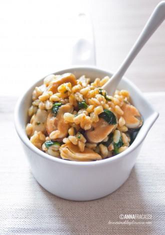 Granotto cozze e spinaci