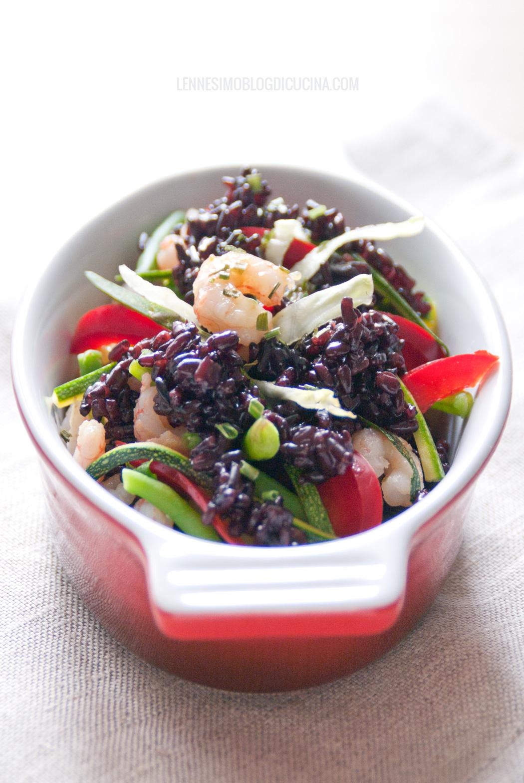 Insalata di riso venere l 39 insalata vanitosa for Ricette di riso