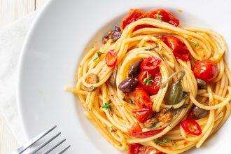 spaghetti alla puttanesca: la mia ricetta