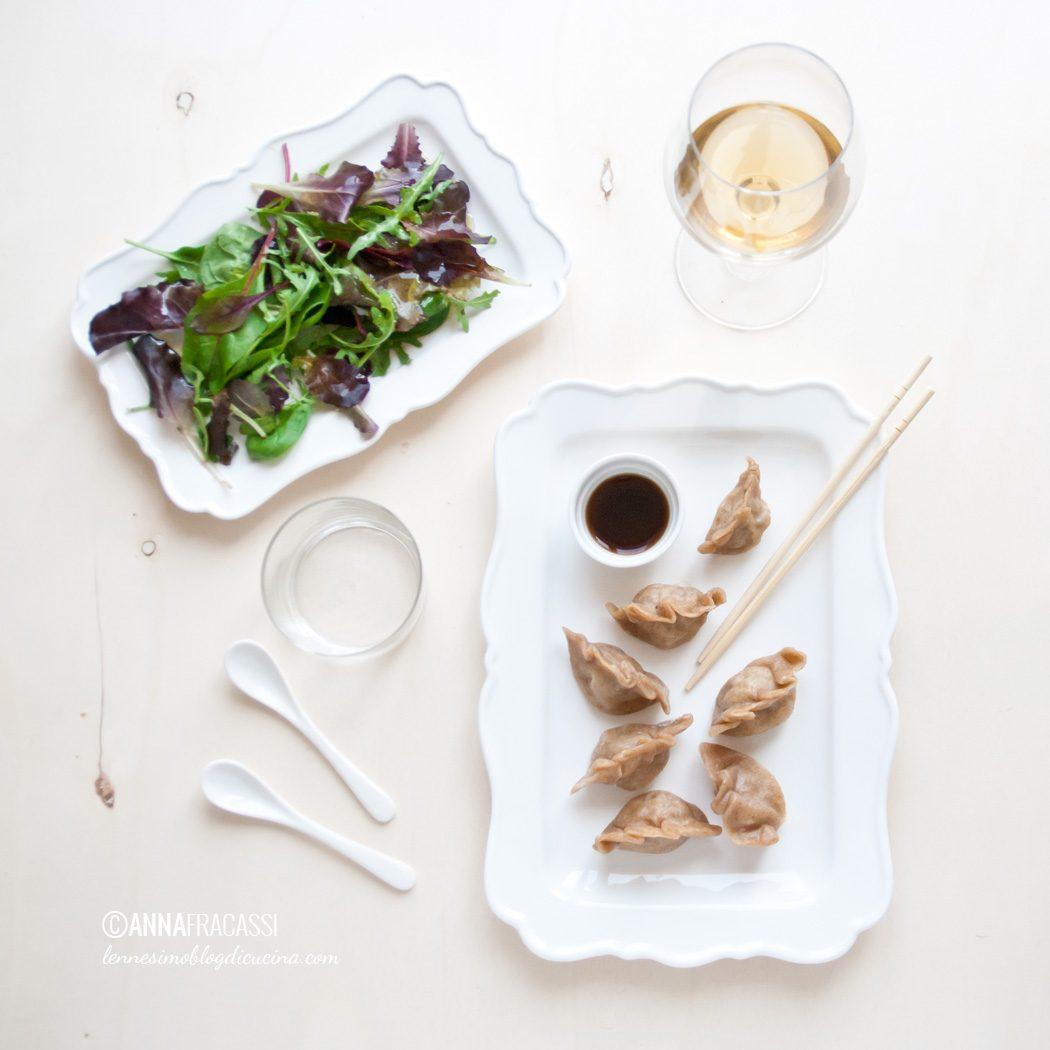 I miei Jiaozi: ravioli al vapore cinesi di carne