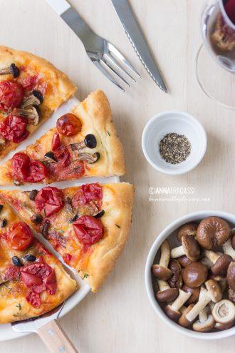 I sapori dell'autunno: la mia pizza ai funghi