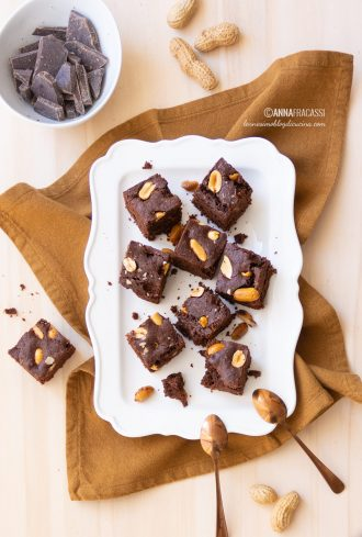 Brownies alle arachidi