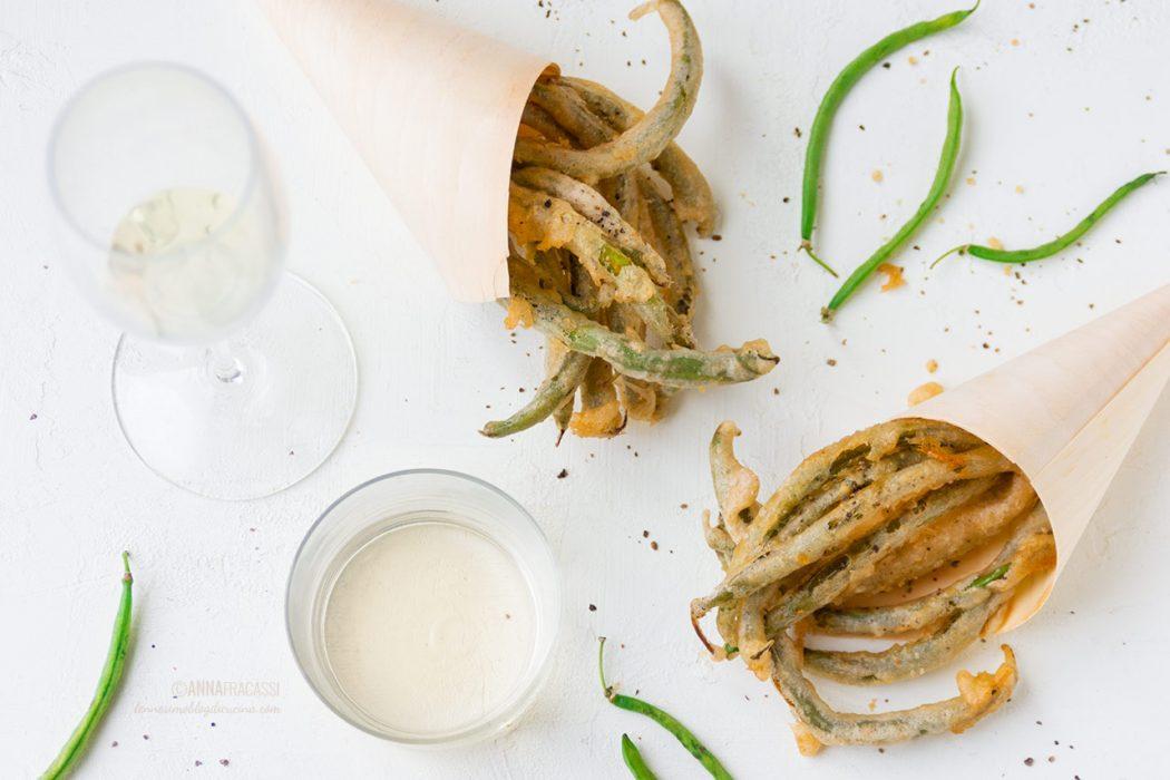 Fagiolini fritti: la ricetta per un aperitivo di primavera