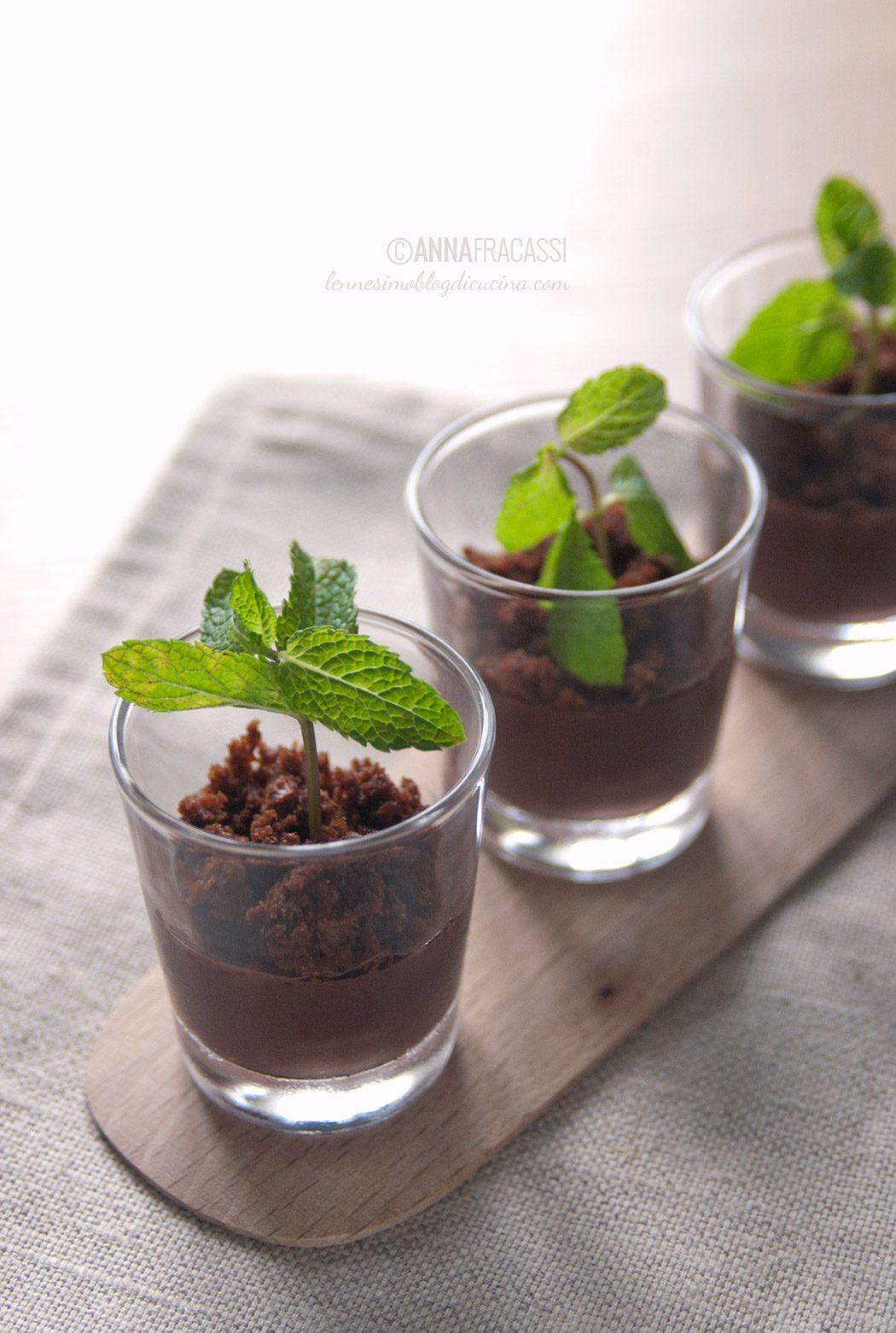 Budino al cioccolato o germogli?