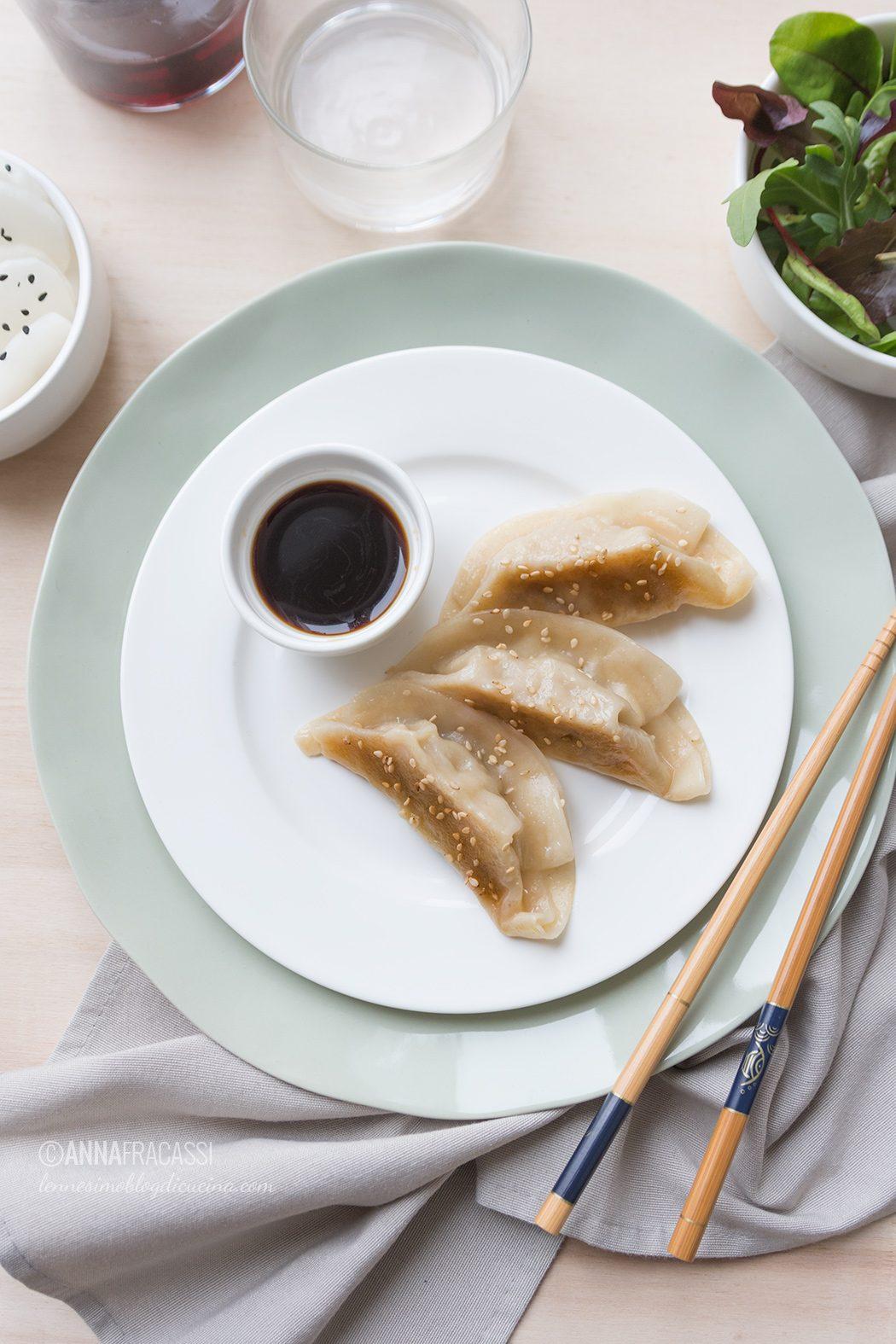 I miei Gyoza: ravioli giapponesi