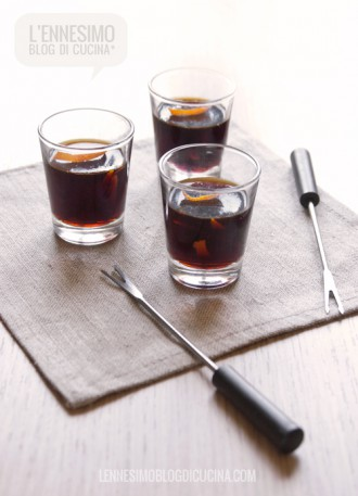 "Gelatine ""one bite"" di Amaro Averna"