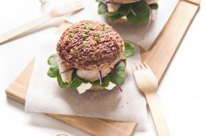 Rice burger con filetto di gallinella