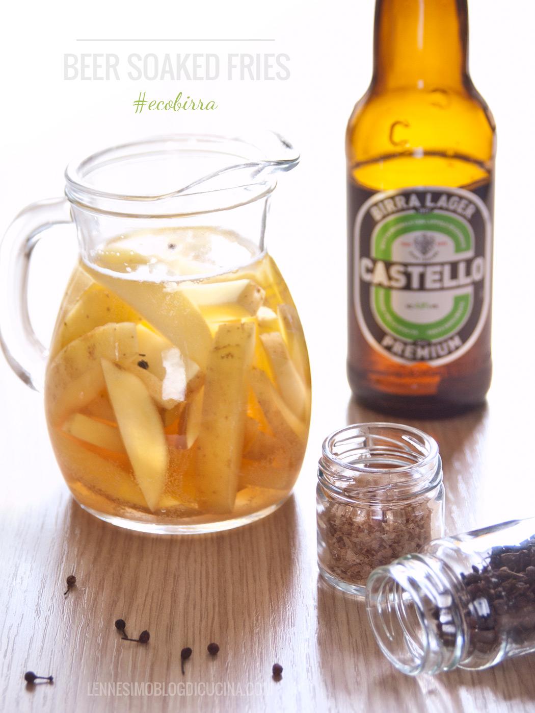 patatine alla birra