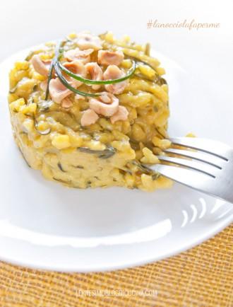 risotto curry agretti nocciole