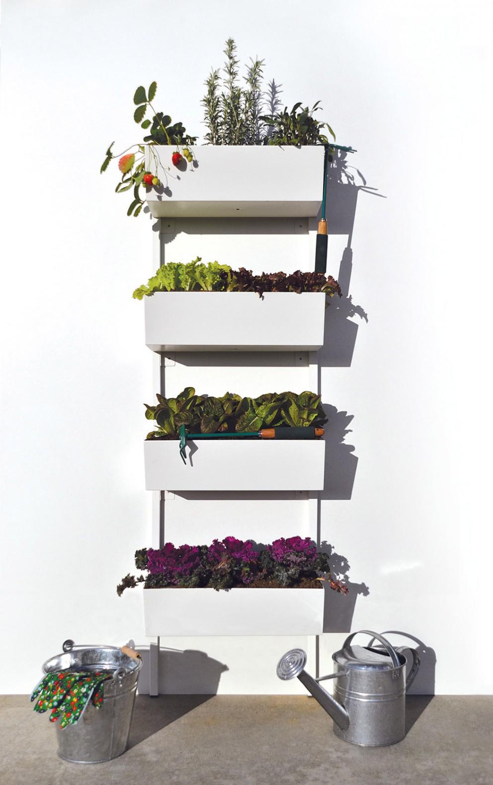 Tante idee per il mio nuovo orto sul balcone - Cucina sul balcone ...