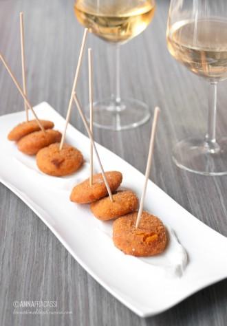 il Santa - bistrò Milano: crocchette di patate dolci