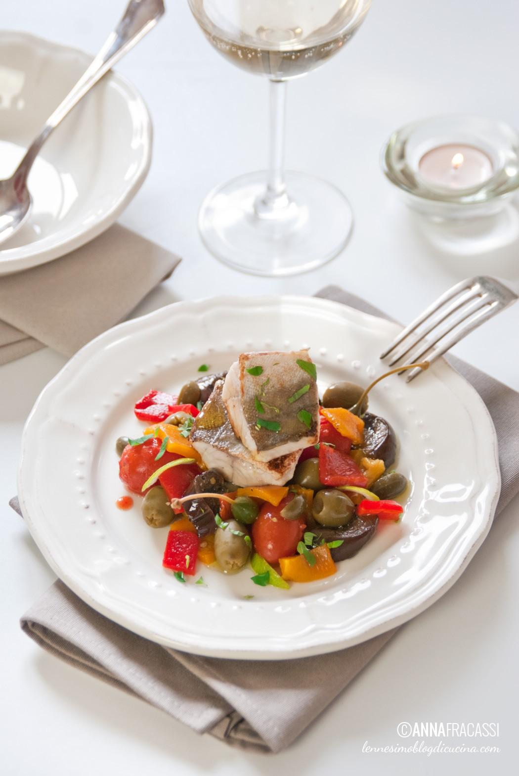 filetto di gallinella su caponatina d'inverno - l'ennesimo blog di ... - Come Cucinare Filetti Di Gallinella