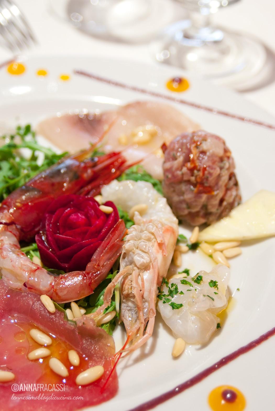 Ristorante Siciliah a Milano - il crudo di pesce