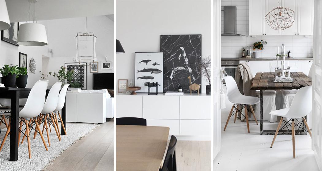 idee per una sala da pranzo in stile scandinavo