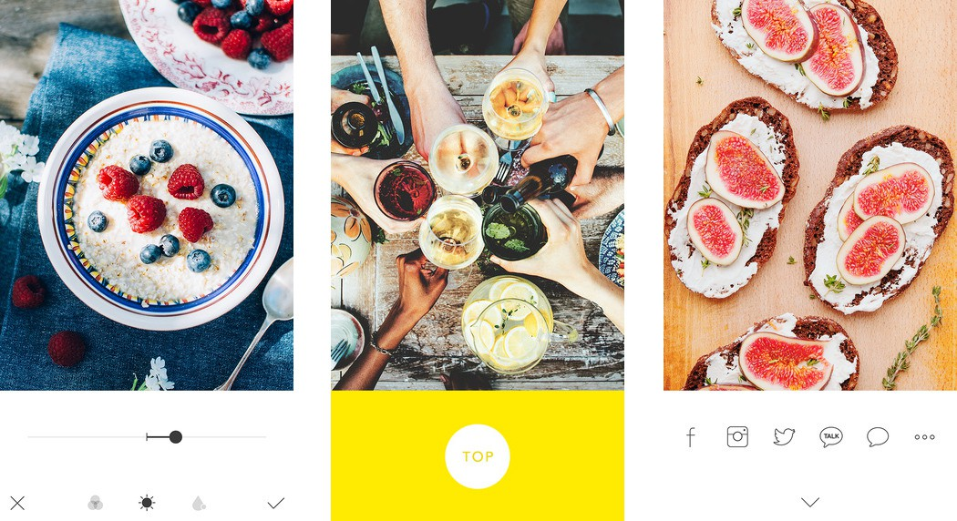 Foodie - A camera app customized for food photos