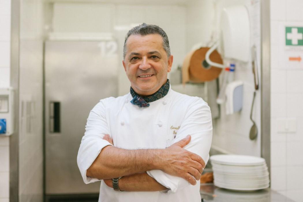 Lo chef Osvaldo Presazzi ospite al The Alpina Gstaad