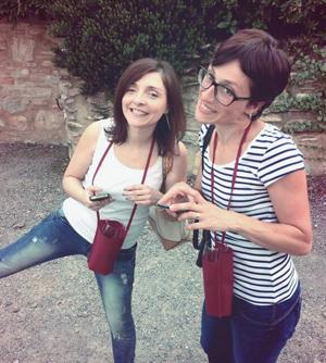 Io, Melina e la serietà - Montevecchia da Bere 2013