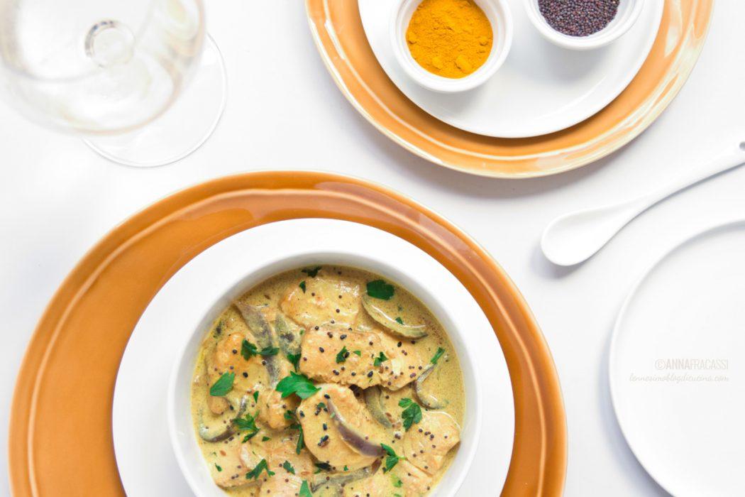 Curry di merluzzo?