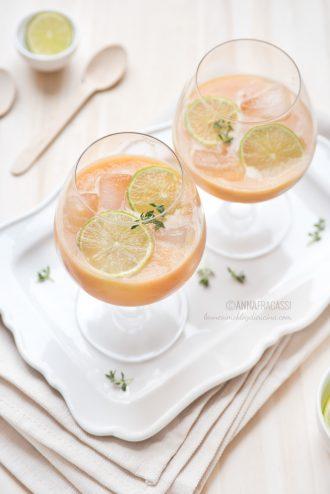Smoothie allo zenzero con carota e finocchio
