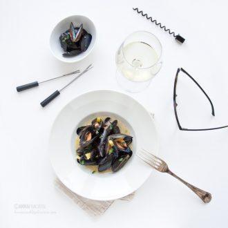 Cozze bretoni à la riecoise