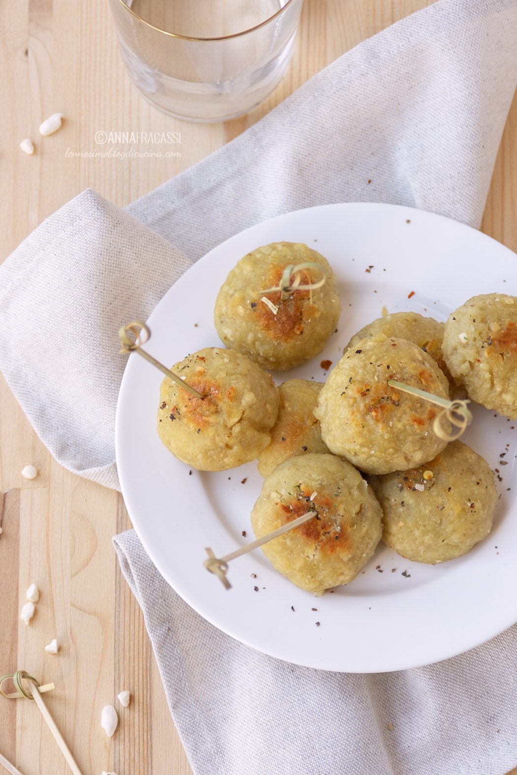 Polpette di topinambur: la mia ricetta veloce e leggera