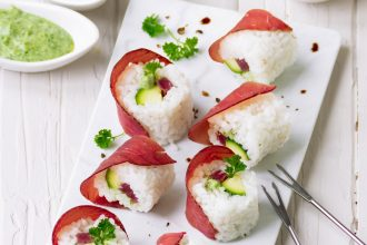 Sushi di bresaola: il mio sushi italiano