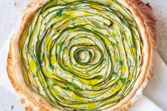 Torta di zucchine e yogurt greco
