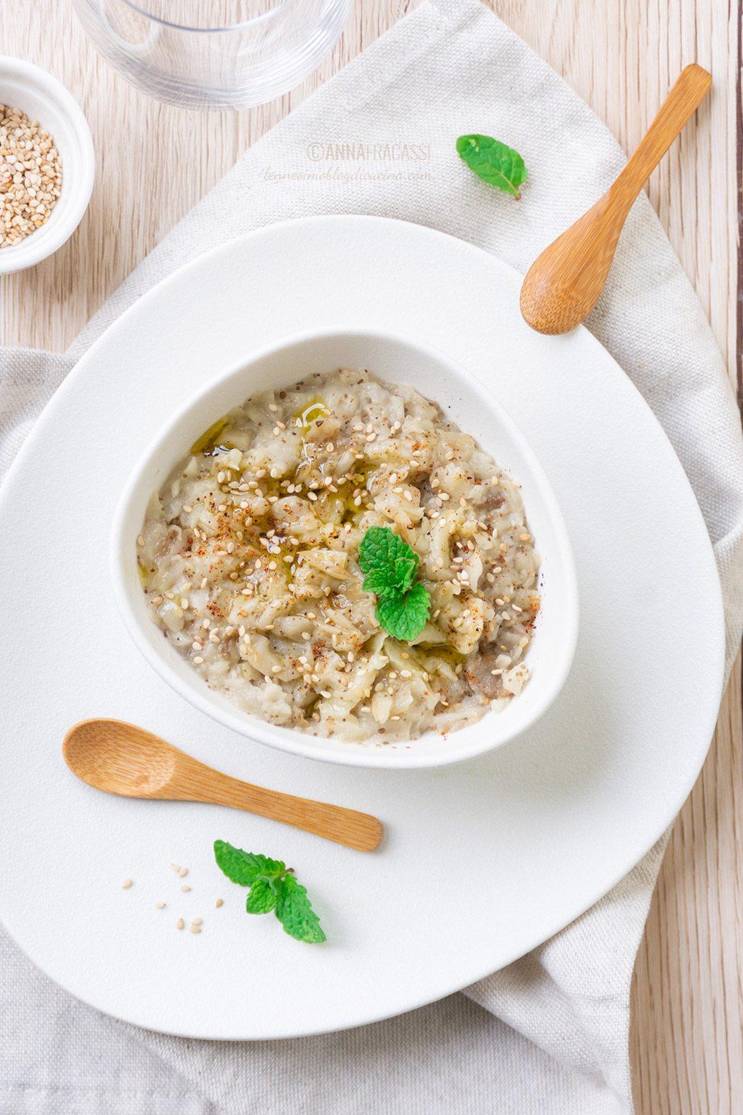 Babaganoush: la ricetta del caviale di melanzane mediorientale