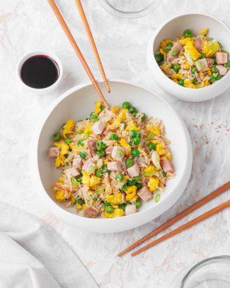 Fried rice: riso alla cantonese
